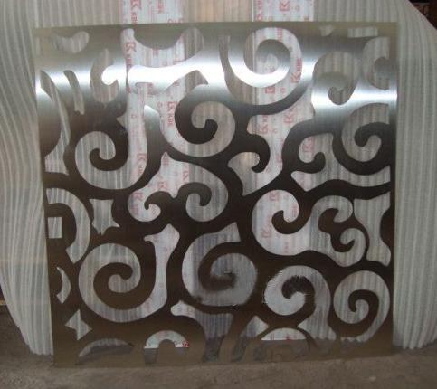 不锈钢铁皮镂空牌喷漆板激光雕刻刻字漏字模板镂空板耐用墙体广告